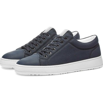 ETQ ETQ. Amsterdam メンズ スニーカー ローカット シューズ・靴 ETQ. Low Top 1 Kurashiki Canvas Sneaker Navy