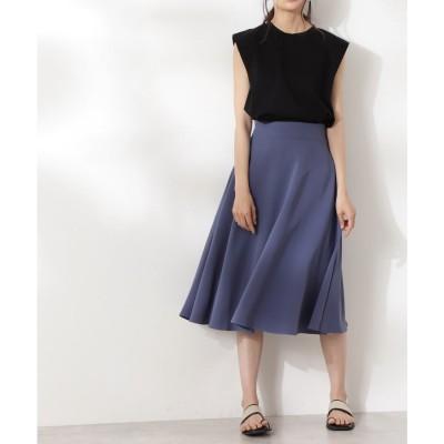 スモーキーフレアスカートⅢ《S Size Line》 ブルー
