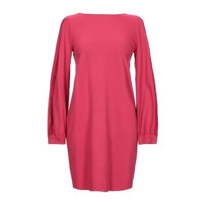 CRISTINAEFFE ミニワンピース&ドレス フューシャ 40 レーヨン 70% / ナイロン 25% / ポリウレタン 5% ミニワンピース&