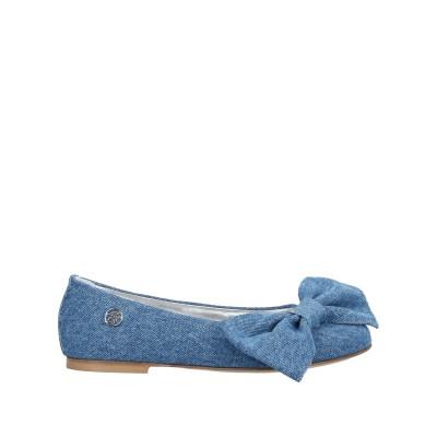MISS BLUMARINE バレエシューズ ブルー 35 紡績繊維 バレエシューズ