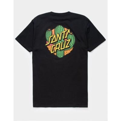 サンタクルーズ SANTA CRUZ メンズ Tシャツ トップス Cactus Dot T-Shirt BLACK