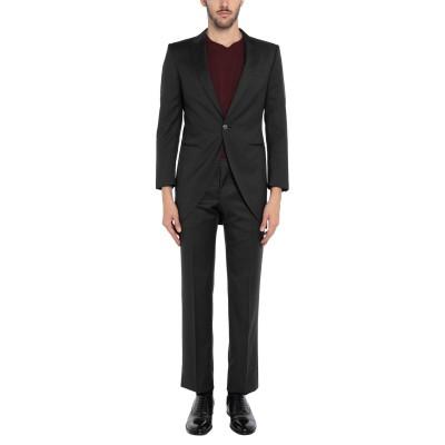 PAL ZILERI CERIMONIA スーツ スチールグレー 46 バージンウール スーツ