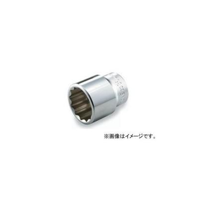 """トネ/TONE 19.0mm(3/4"""") ソケット(12角) 品番:6D-24"""