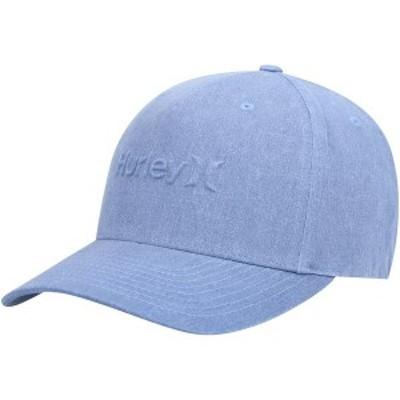 ハーレー メンズ 帽子 アクセサリー Hurley Bossed Snapback Hat Blue