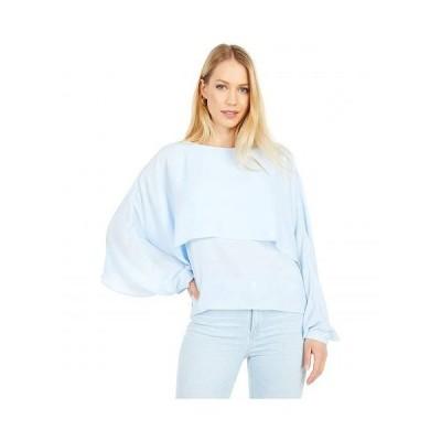 Jack by BB Dakota レディース 女性用 ファッション ブラウス Next Big Thing Top - Light Blue