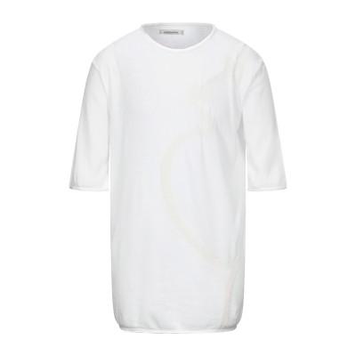 ノストラサンティッシマ NOSTRASANTISSIMA T シャツ アイボリー L コットン 95% / ポリプロピレン 5% T シャツ