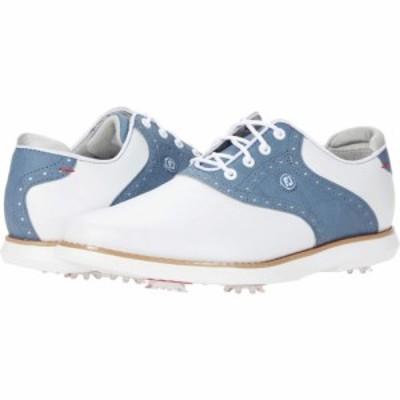 フットジョイ FootJoy レディース スニーカー シューズ・靴 Traditions White/Blue