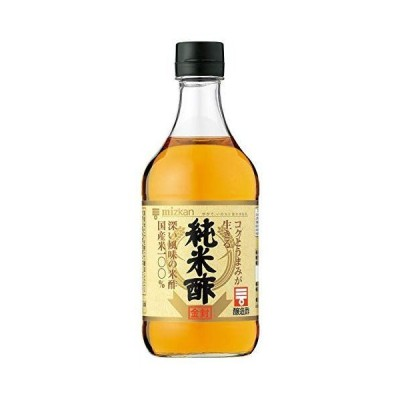 ミツカン 純米酢金封 500ml ×3本