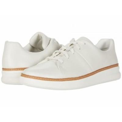 Clarks クラークス レディース 女性用 シューズ 靴 スニーカー 運動靴 Kerris Lace White Leather【送料無料】