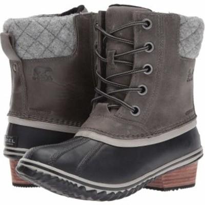 ソレル SOREL レディース ブーツ シューズ・靴 Slimpack II Lace Quarry/Black