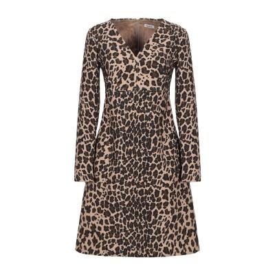 パロッシュ P.A.R.O.S.H. ミニワンピース&ドレス キャメル XS ポリエステル 92% / ポリウレタン 8% ミニワンピース&ドレス