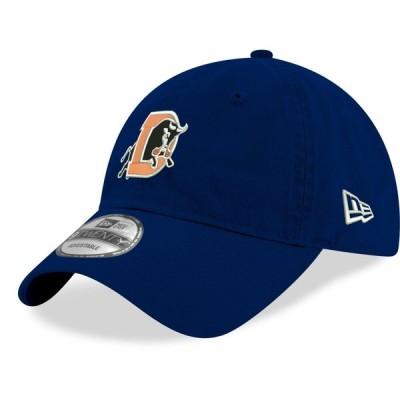 ニューエラ New Era メンズ キャップ 帽子 Durham Bulls Blue Core Classic 9Twenty Adjustable Hat