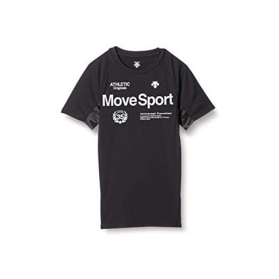 [デサント] 半袖Tシャツ スキンフィットシャツ メンズ (ブラック S)
