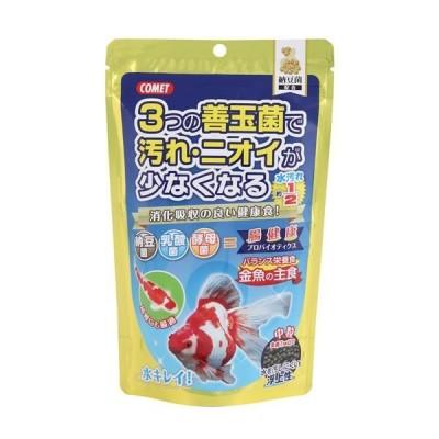 (まとめ) コメット 金魚の主食 納豆菌 中粒 200g (ペット用品) 〔×10セット〕