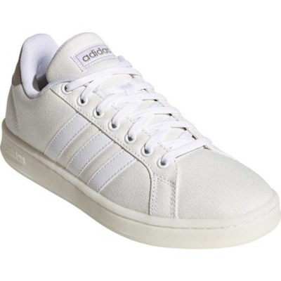 アディダス スニーカー シューズ レディース Grand Court Sneaker (Women's) FTWR White/FTWR White/Platinum Metallic