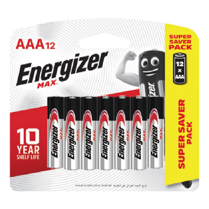 12pcs#4(Alk)勁量鹼性電池