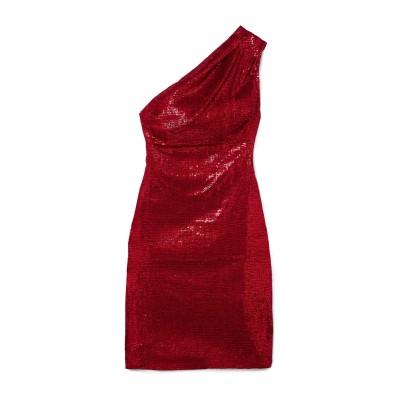 ハニー HANEY ミニワンピース&ドレス レッド 8 ポリエステル 100% ミニワンピース&ドレス