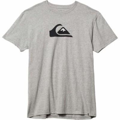 クイックシルバー Quiksilver メンズ トップス Comp Logo Short Sleeve Athletic Heather