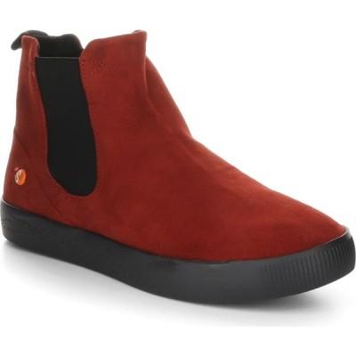 フライロンドン SOFTINOS BY FLY LONDON レディース ブーツ シューズ・靴 Saha Bootie Red Leather