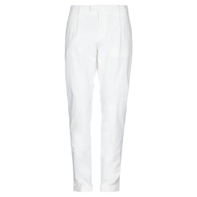 BRIGLIA 1949 パンツ ホワイト 40 コットン 97% / ポリウレタン 3% パンツ