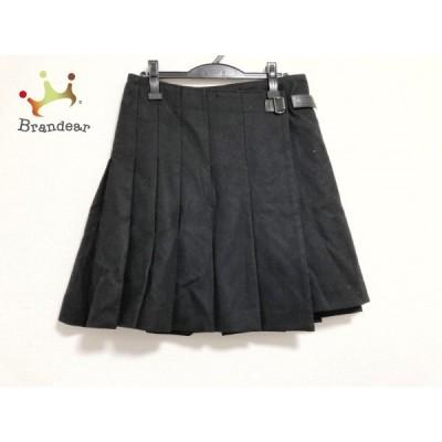 アドーア ADORE 巻きスカート サイズ38 M レディース 黒     スペシャル特価 20200427