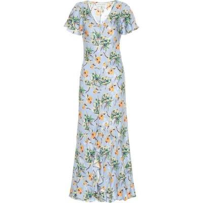 エトロ Etro レディース ワンピース マキシ丈 ワンピース・ドレス floral silk-blend maxi dress