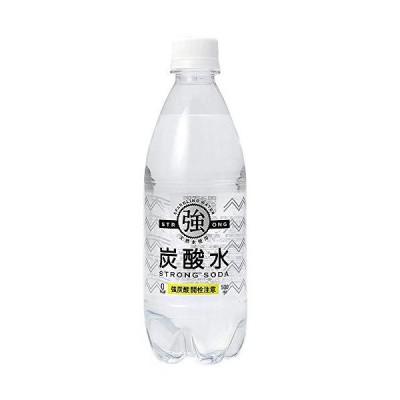 友桝飲料 強炭酸水500ml×48本(2ケース)天然水使用