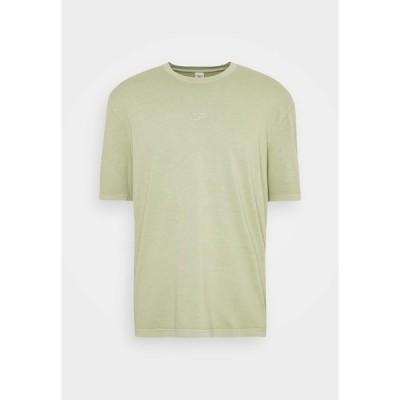 リーボック Tシャツ メンズ トップス TEE - Basic T-shirt - harmony green