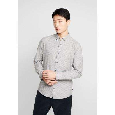 キュー エス デザイン バイ シャツ メンズ トップス Shirt - grey