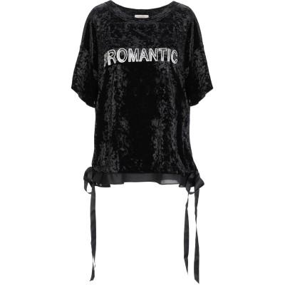 TOY G. T シャツ ブラック S ポリエステル 100% T シャツ
