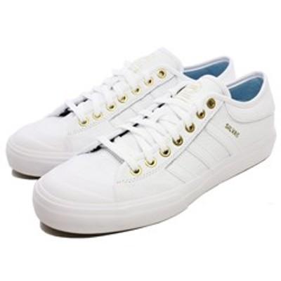 アディダス スケートボーディング マッチコート [サイズ:27.5cm(US9.5)] [カラー:ホワイト×ゴールド×アイスブルー] #CG4277靴