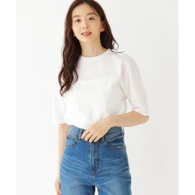 THE SHOP TK(Women)(ザ ショップ ティーケー(ウィメン)) カーブスリーブTシャツ