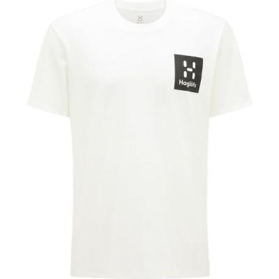 ホグロフス Haglofs メンズ Tシャツ トップス Camp Short Sleeve T-Shirt Soft White