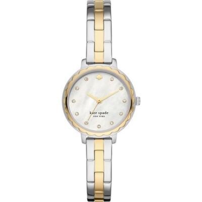 ケイト スペード KATE SPADE NEW YORK レディース 腕時計 morningside bracelet watch, 28mm Two Tone