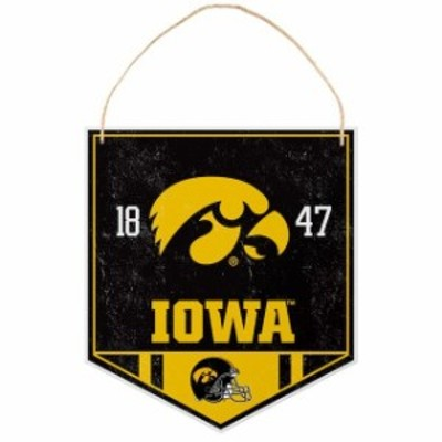 Forever Collectibles フォーエバー コレクティブル スポーツ用品  Iowa Hawkeyes Metal Garden Sign