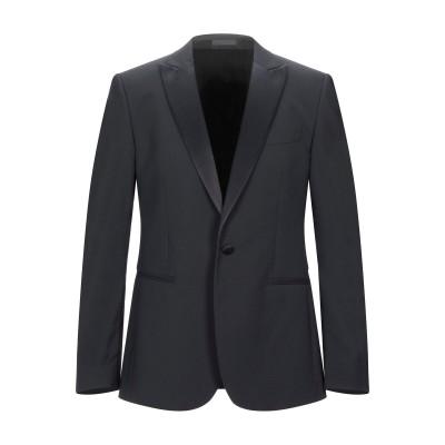 LAB. PAL ZILERI テーラードジャケット ブラック 50 バージンウール 98% / ポリウレタン 2% テーラードジャケット
