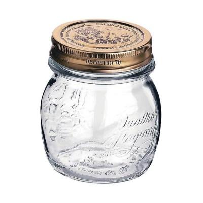 ガラス製品 保存容器 / クアトロスタッジオーニジャー 0.25L 3.57750(00175) 寸法: 直径:86 x H93mm 口径:70mm 容量:250cc