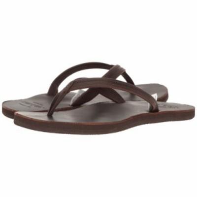 セバゴ ビーチサンダル Tides Flip Flop Dark Brown Leather