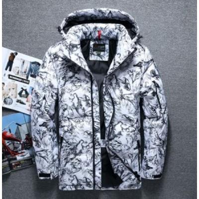 M-3XL/ダウン ジャケット 大きい メンズ  アウトレット メンズトップス  メンズアウター 防風 暖かい コート 防風 防寒  70%ダウン