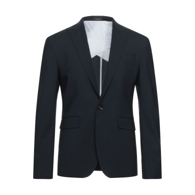 ディースクエアード DSQUARED2 テーラードジャケット ダークブルー 50 バージンウール 95% / ポリウレタン 5% テーラードジャケット