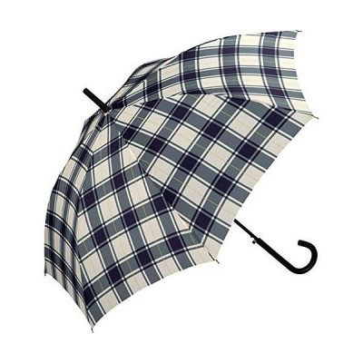 ワールドパーティー(Wpc.)アンヌレラ雨傘 長傘 ラインチェック 60cm UNNURELLA LONG 60 UN01-007ラインチェ