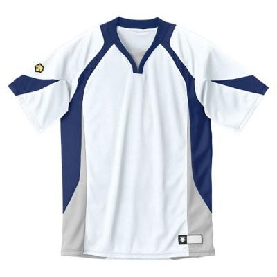 セカンダリーシャツ DB-113  DESCENTE デサント ヤキュウソフトコート (DB113-WNV)