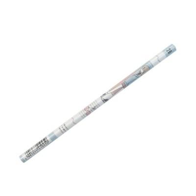 丸軸 えんぴつ 2B コレラボ 鉛筆 ガールズオンリー カミオジャパン