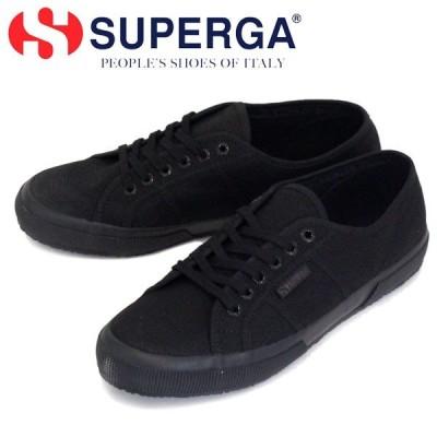 SUPERGA (スペルガ) 2750-COTU CLASSIC キャンバススニーカー 997 TOTAL BLACK SPG003