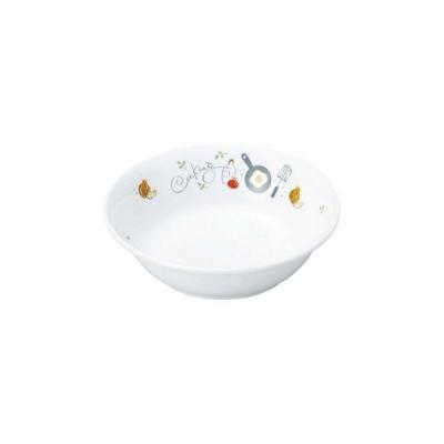 【まとめ買い10個セット品】 リ・おぎそ 子ども食器シリーズ 深皿 12.8cm 1044-1240【 和・洋・中 食器 】