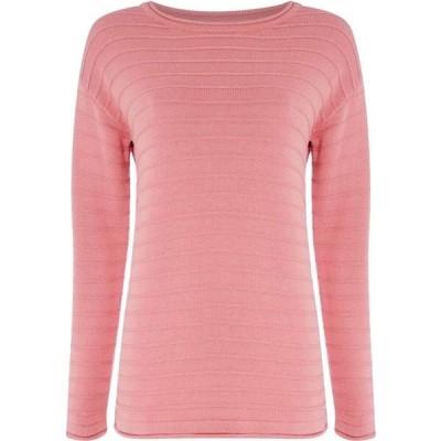クルークロッシングカンパニー Crew Clothing Company レディース ニット・セーター トップス The Salcombe Jumper Pink