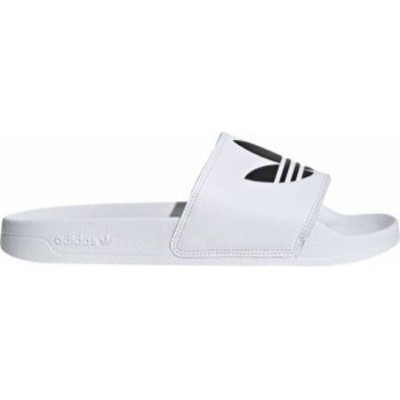 アディダス メンズ サンダル シューズ adidas Men's Adilette Lite Slides White/Black