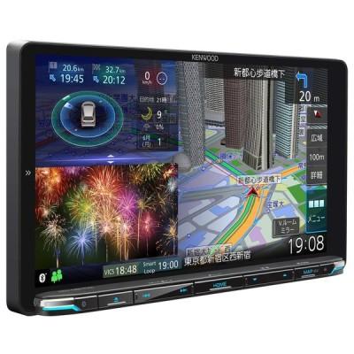 ケンウッド カーナビ 彩速ナビ  9型 MDV-M907HDL 専用ドラレコ連携 無料地図更新/フルセグ/Bluetooth/Wi-Fi/Android&iPhone対応/DVD/SD/USB/HDMI/ハイレ
