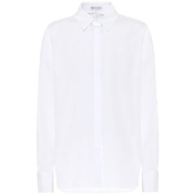 ロロピアーナ Loro Piana レディース ブラウス・シャツ トップス Cotton-poplin shirt