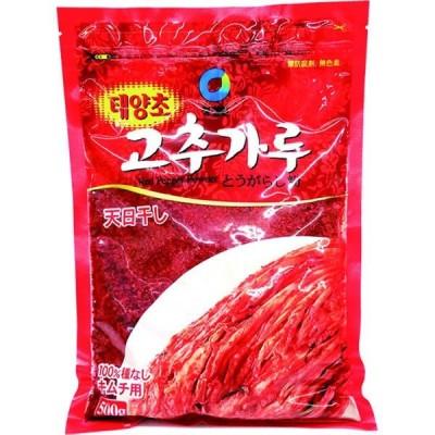 ハッピー食品 唐辛子粉(キムチ用)500g 6934163100267 20個(直送品)